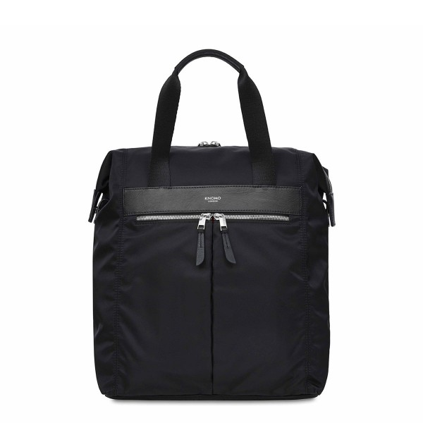 Knomo Mini Chiltern Tote Backpack Black 13 inch