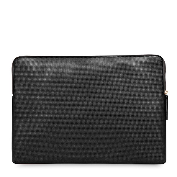 Knomo Laptop Sleeve Embossed Black 15 inch