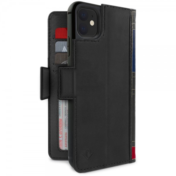 Twelve South BookBook iPhone 11 Case Wallet Zwart