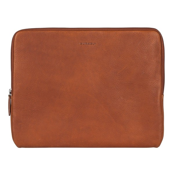 Burkely Antique Avery Laptop Sleeve Cognac 13.3 inch