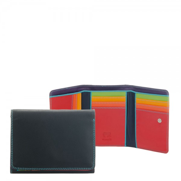 Mywalit Unisex Medium Tri-Fold Wallet black-pace