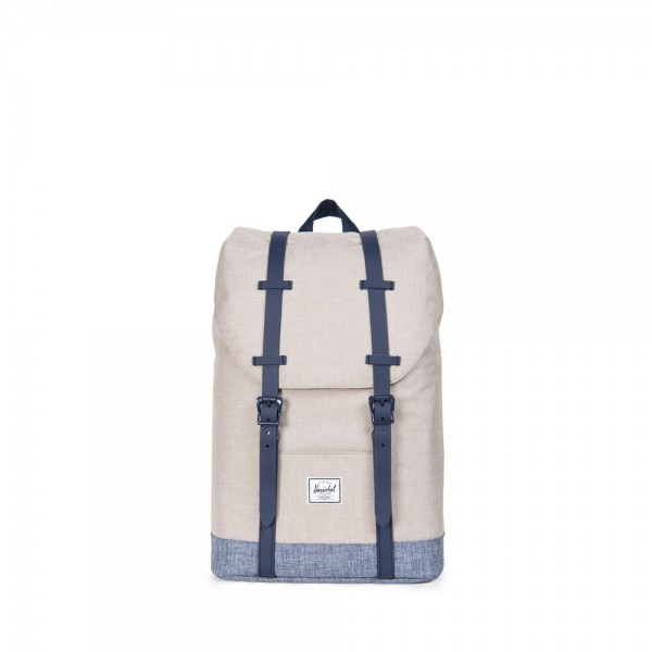Herschel Supply Co. Retreat Youth Rugzak Light Kaki Peacoat Rubber