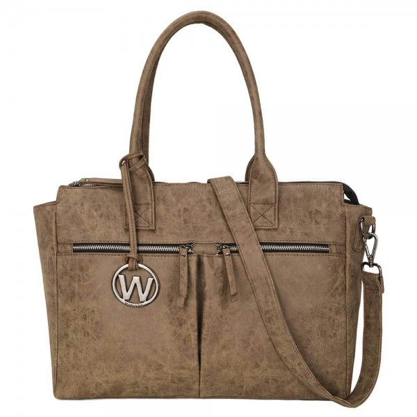 Wimona Catarina Dames Laptoptas taupe