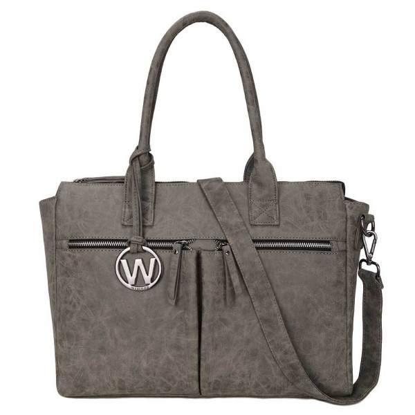 Wimona Catarina Dames Laptoptas grey