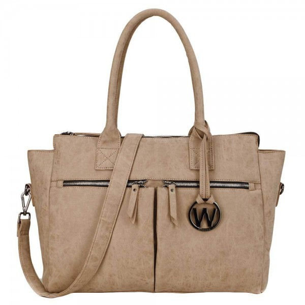 Wimona Catarina Dames Laptoptas camel