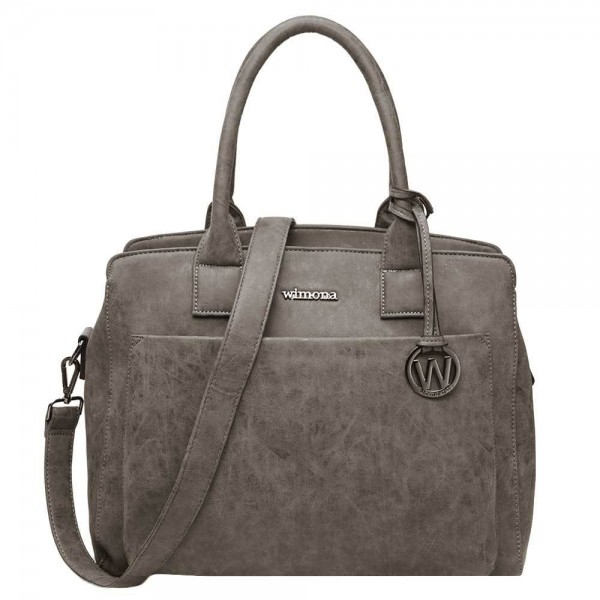 Wimona Isabella Dames Laptoptas grey