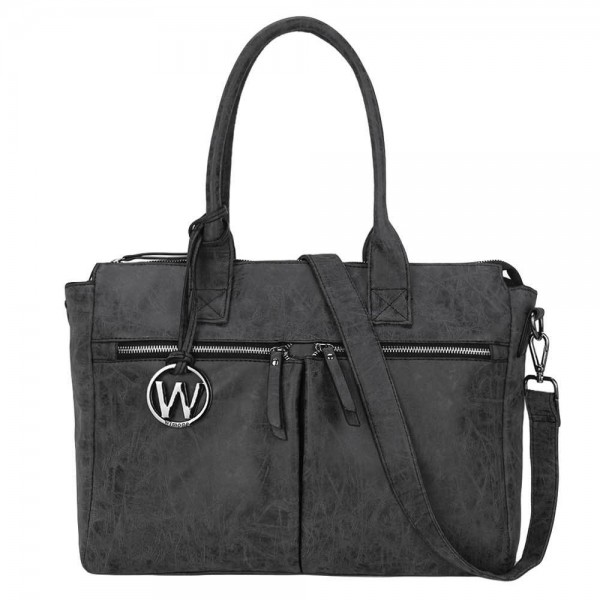 Wimona Catarina Dames Laptoptas black