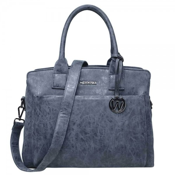 Wimona Isabella Dames Laptoptas dark blue